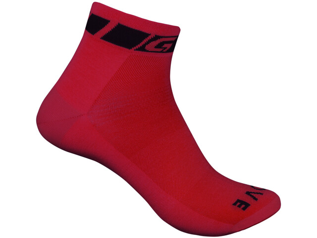 GripGrab Classic Chaussettes, red